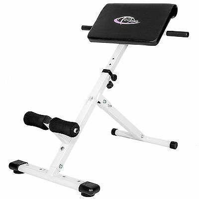 Back Hyper Extension Exercise Bench Hyperextension Fitness Roman Chair Foldable • 93.99£