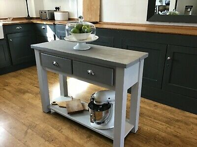 Neptune Painted Console/hall Table/kitchen Island. • 55£