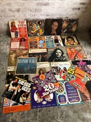 Selection Of Vinyl Records LPs And Singles From The 50s, 60s, 70s And 80s • 11.50£