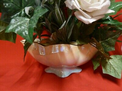 $ CDN34.06 • Buy Vintage Royal Winton Grimwades Display Flower Holder Vase Lustre Bowl England