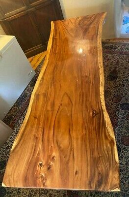 7ft Solid African Wooden Dining Table • 500£