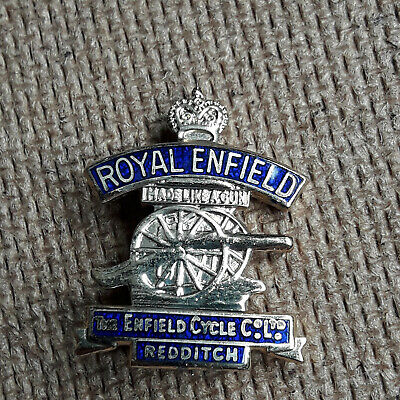 ROYAL ENFIELD Motorcycle Lapel Badge • 4.20£