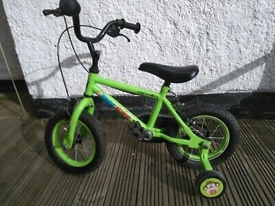 "Apollo Marvin The Monkey Kids Bike 3-5 Years 12"" Wheels, Stabilisers. Awesome! • 5£"