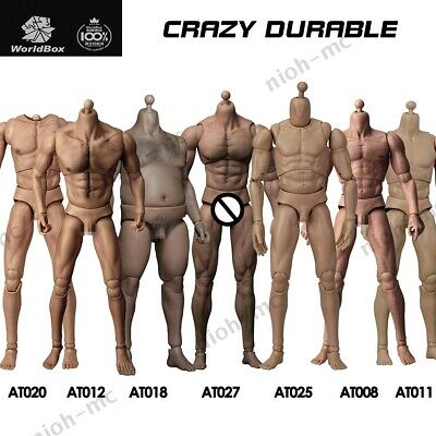 £35.99 • Buy WorldBox 1/6 Scale Male Action Figure Body For 12  Hot Toys Phicen TBLeague Head