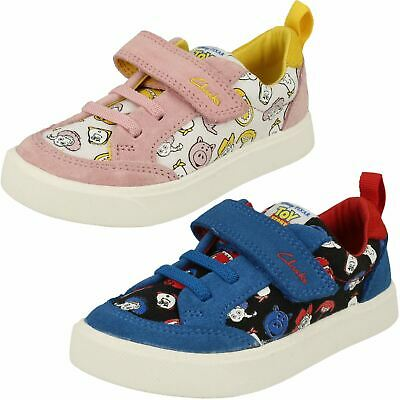 £30 • Buy Childrens Clarks Toy Story 'City Howdy T' Canvas & Suede Pumps - F & G Fittings