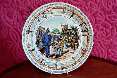 Ringtons Collectors Plate Street Games By Wade • 6.99£