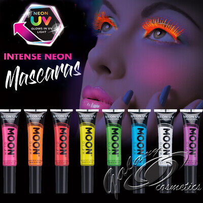 Neon UV Mascara By Moon Creations Bright Colours • 3.95£