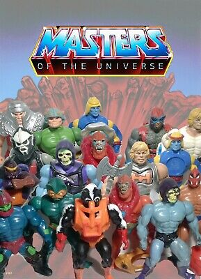 $30 • Buy He-Man Masters Of The Universe Figure Lots! U Choose! Skeletor Ram Man Hordak