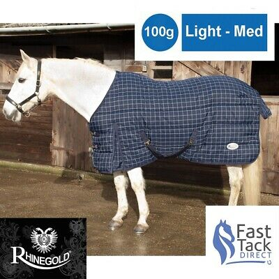 £38.44 • Buy 100g Stable Rug   Rhinegold Chicago 100g Light - Mid Weight HORSE Quilt