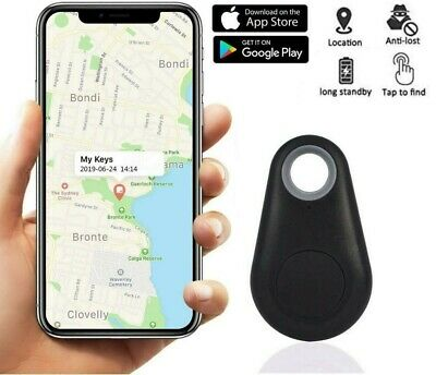 Mini GPS Tracker Wireless Key Finder Alarm Wallet Car Child Locator Random Color • 1.49£