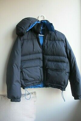 AU54 • Buy Uniqlo Collab.JW Anderson Navy Reversible Hooded Puffer Jacket Size M