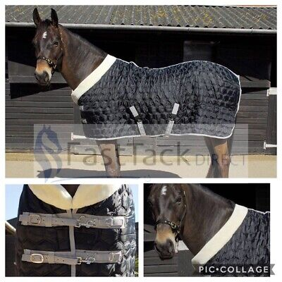 £45.37 • Buy 150g STABLE RUG   Rhinegold Detroit Hexagon HORSE Stable Quilt 5ft3 - 7ft3