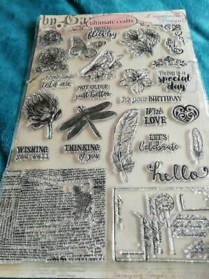 Clear Rubber Stamp Set Nature • 2£