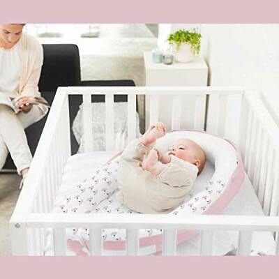 Babymoov Doomoo Cocoon Organic Cotton Baby Nest , Pink Flowers • 78.82£