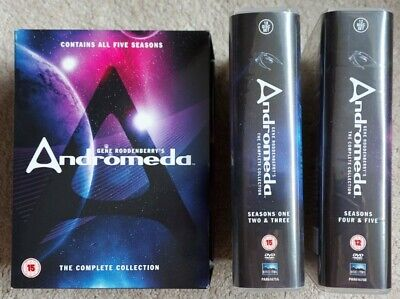 Andromeda - The Complete Collection (All Episodes/Seasons 1-5) DVD's • 30£