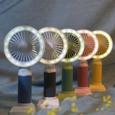 AU16.99 • Buy Mini Portable Hand-held Desk Fan Cooling Cooler USB Air Rechargeable Conditioner
