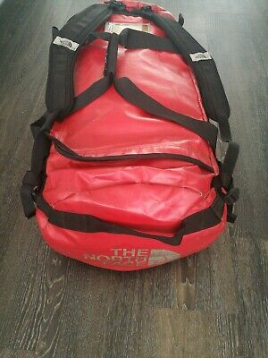 The North Face 95l Large Red Duffle Bag Basecamp Expedition TNF Northface • 69£