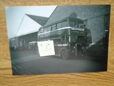 BUS PHOTO  POTTERIES MOTOR TRACTION HVT 280  STOKE On TRENT • 0.99£