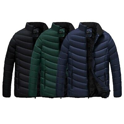 $39.95 • Buy The Whole Shebang Coat Men's Quilt Puffer Jacket With Faux Fur Lining