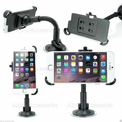 Car Holder For IPhone 7 Plus 360 Degrees Windscreen Suction Mount Cradle Kit • 5.98£