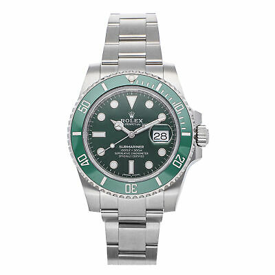 $ CDN24660.27 • Buy Rolex Submariner Date Hulk Mens Automatic Green Dial Bracelet Watch 116610LV