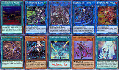 $ CDN144.32 • Buy Yugioh Sky Striker Deck - Ace Shizuku Zeke Kagari Roze Raye Mecha Widow Anchor