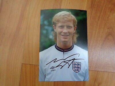 £11.99 • Buy Signed Mark Wright England Official Portrait Photo Genuine Autograph