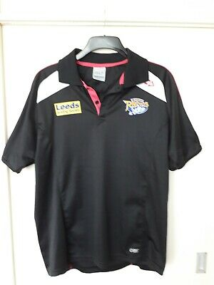 Leeds Rhinos Polo Shirt Large In New Condition  • 9£