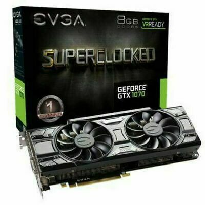 $ CDN223.34 • Buy EVGA GeForce GTX 1070 8GB GDDR5 Graphics Card (08GP45173KR)