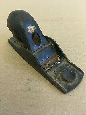 Vintage Stanley Block Plane No102 Made In England • 1.99£
