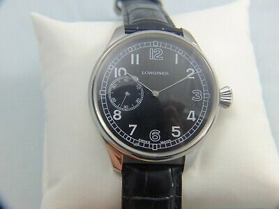 LONGINES Mens Marriage Watch, Converted From Pocket Watch, 1920s, Fully Working • 102£