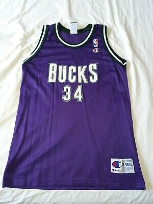 AU20 • Buy Ray Allen Champion Jersey NBA Youth XL