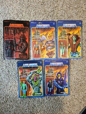 $30 • Buy Masters Of The Universe ReAction Super 7 Set