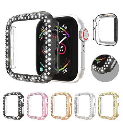 $ CDN5.18 • Buy Bling Case Cover Hard Bumper Protective For Apple Watch Series 5 4 3 2 1 38/40mm
