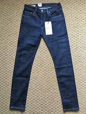 NEW Levi's 519 Skinny Jeans For Men, Indigo Wash, W30 L32, With Tags • 22.99£