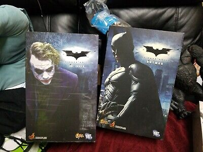 $ CDN1002.22 • Buy 1/6 Hot Toys The Dark Knight Det Of 2 Figures Batman And The Joker Set  Mib