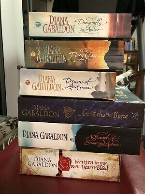 AU40 • Buy Diana Gabaldon Outlander Series (2,4,5,6,7,8) X 6 Books.