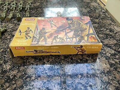 Airfix 1/32 WW2 1st Edition British Paratroops Soldiers .Extremely RARE Full Set • 200£
