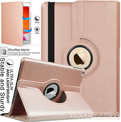 £6.46 • Buy For Apple IPad 10.2  (2020) 8th Generation 360° Rotating Leather Slim Case Cover