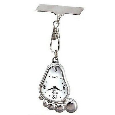 FUNNY FOOT Funky Nurses Fob Watch NEW - Quality FREE GIFT BAG - Free P&P! • 14.99£