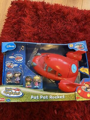 Disney Little Einsteins Pat Pat Rocket With Figures And Box • 25£