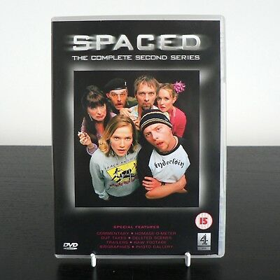 Spaced - Complete Second Series DVD 2002 Simon Pegg, Edgar Wright, Jessica Hynes • 2.49£