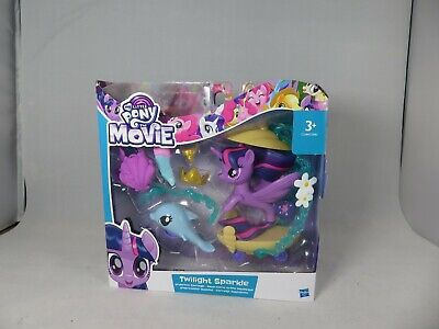 New My Little Pony The Movie Twilight Sparkle Figure Undersea Carriage Playset • 8£