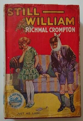 Still William By Richmal Crompton 1964 With Dust Jacket, Illustrated • 25£