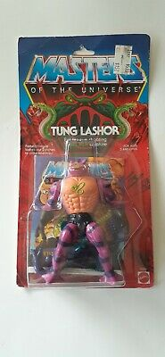 $150 • Buy MOTU, Tung Lashor, Masters Of The Universe, MOC, Carded, Figure, He Man, Sealed