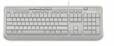 AU43.93 • Buy Microsoft Wired 600 Keyboard Only USB, 3 Year, ANB-00034 Retail Pack, White-EB