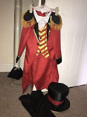 Deluxe Greatest Show Man Fancy Dress Size 7-9 Worn Once  • 12.90£