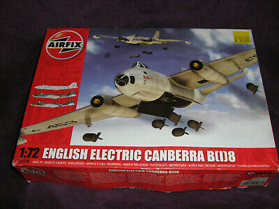 AIRFIX 1/72 Scale ENGLISH ELECTRIC CANBERRA B[1]8  • 21£
