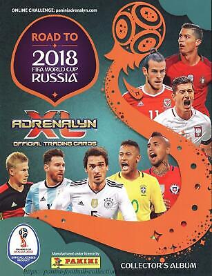 Road 2018 FIFA World Cup Adrenalyn XL - DISCOUNT!! Pick Available Cards - Panini • 0.99£