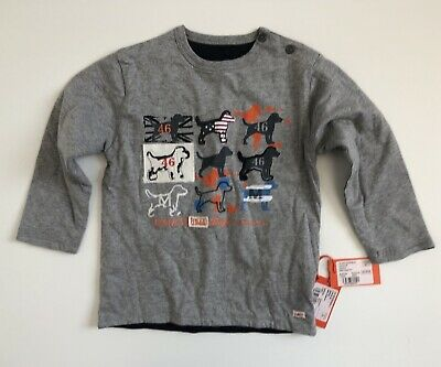MARESE Boys BNWT RRP €49 Reversible Long Sleeve Dog Themed Top Size Aged 3 Yrs • 4.99£